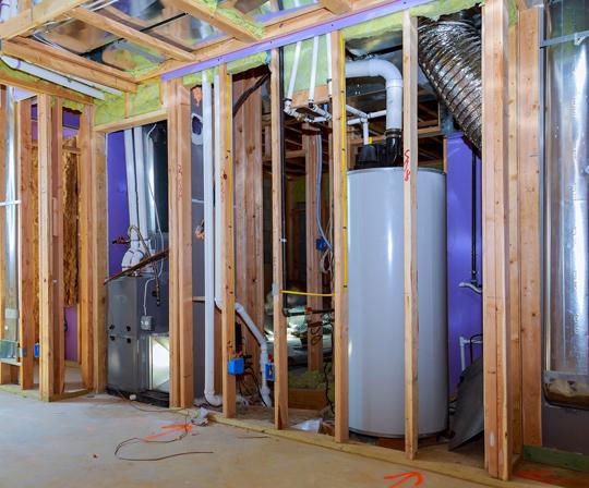 Basement Plumbing installation Hamilton
