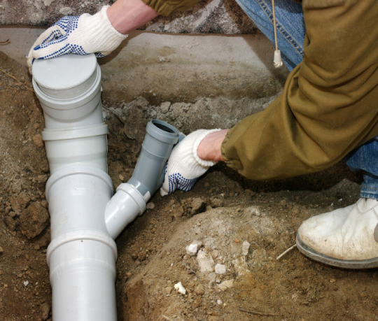 Backed up sewer pump replacement