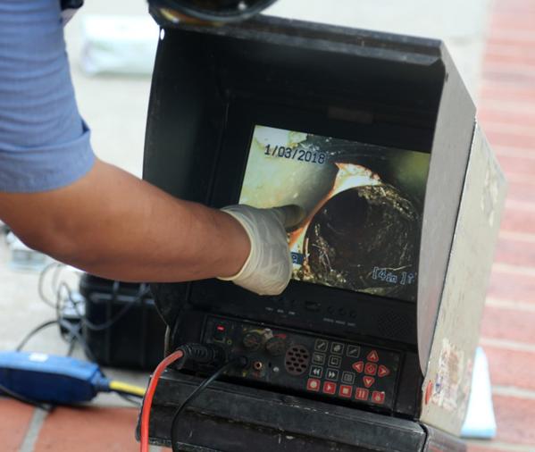 CCTV Camera Inspection Hamilton